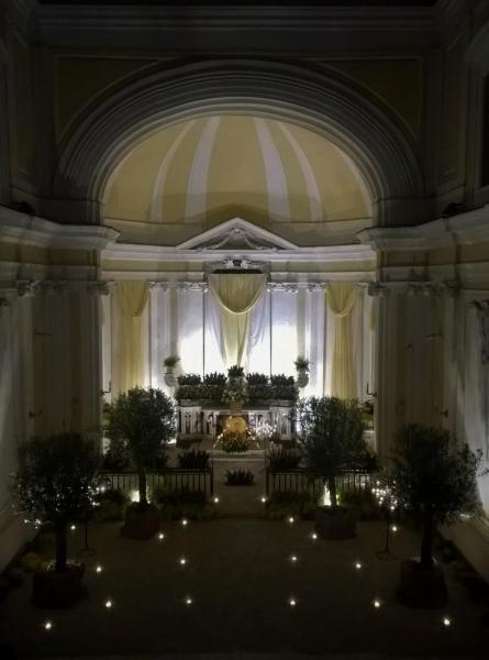 Altare reposizione